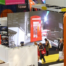 exhibition led screen hire