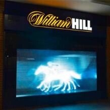 retail window led screen hire