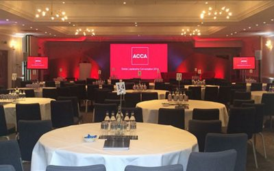 Is Big Screen Hire Replacing Projection for Corporate Events?