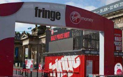 Virgin Money Half Price Hut at Edinburgh Fringe Festival 2015 | Outdoor LED