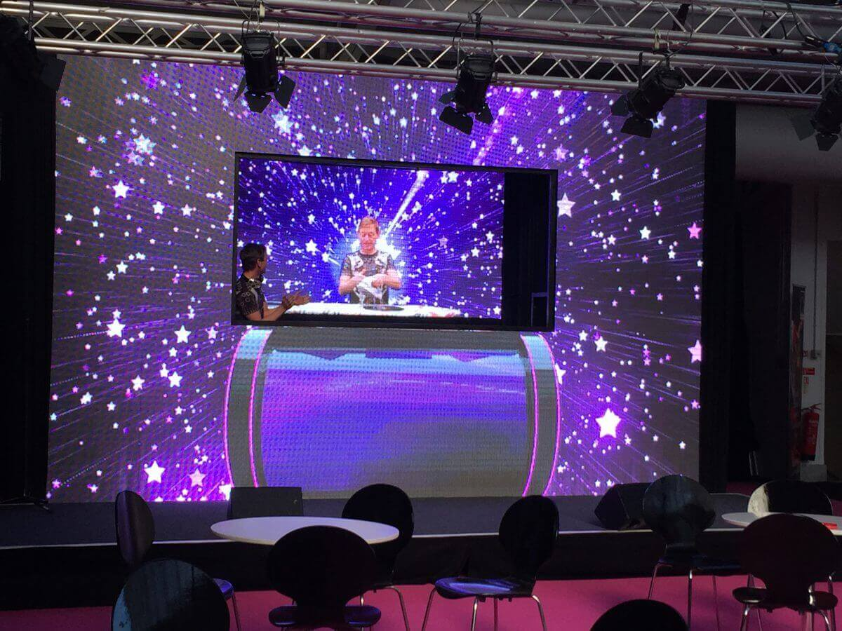 Event Production Show and International Confex Lightmedia Displays
