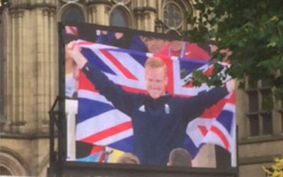 Manchester Olympics Homecoming Parade