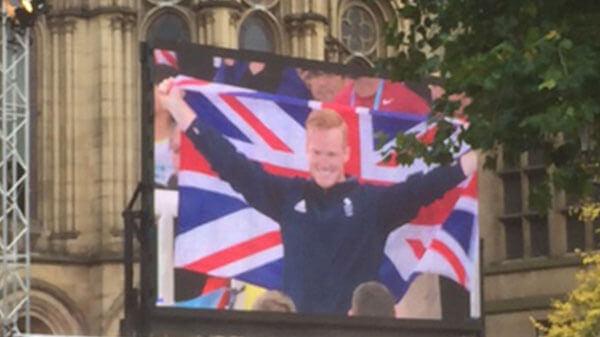 Manchester Olympics Homecoming Parade