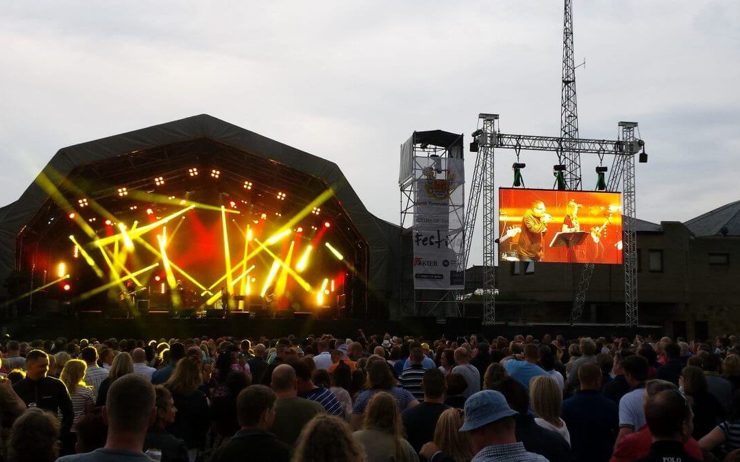 Mouth of the Tyne Festival 2015 | LED Screen hire