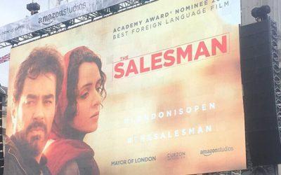 "Oscar Award Winning Film ""The Salesman"""