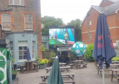 LED screen hire for sport
